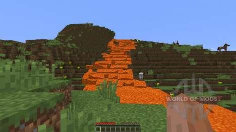 Giant volcano para Minecraft