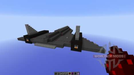 SR-71 BlackBird para Minecraft