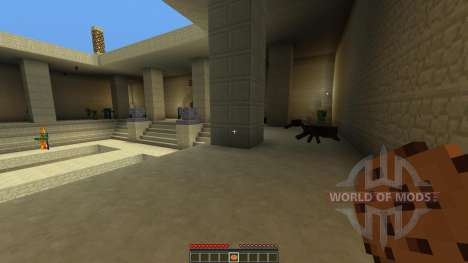 Courtyard of Death para Minecraft