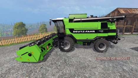 Deutz-Fahr 7545 RTS v1.2.2 para Farming Simulator 2015