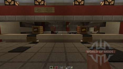KFC Redstone powered para Minecraft