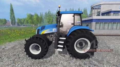 New Holland T8020 v4.5 para Farming Simulator 2015