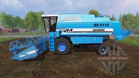 Bizon BS 5110 v1.2 para Farming Simulator 2015