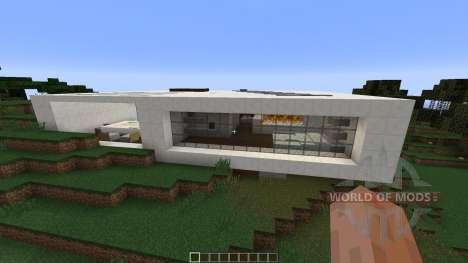 Contemporary Concept Home para Minecraft