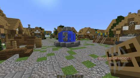 The Town of Noxhen para Minecraft