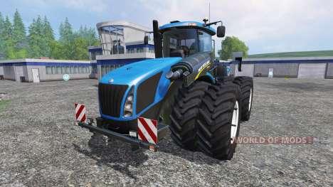 New Holland T9.700 [dual wheel] v1.1 para Farming Simulator 2015