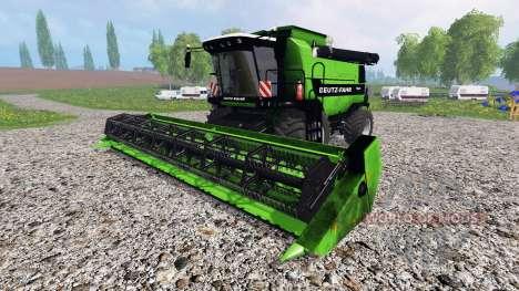 Deutz-Fahr 7545 RTS v1.2.1 para Farming Simulator 2015