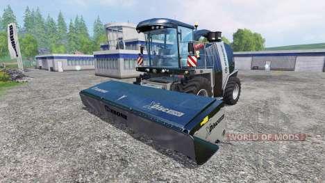 Krone Big X 1100 [black edition] v1.1 para Farming Simulator 2015