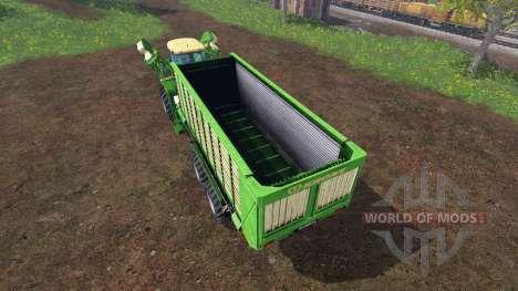 Krone BIG L500 Prototype v1.9 para Farming Simulator 2015