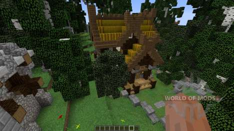 Viking Lake Town para Minecraft