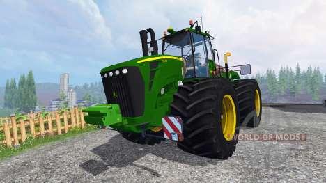 John Deere 9630 terra tires para Farming Simulator 2015