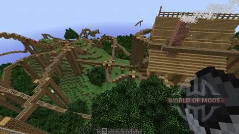 The Lost Island Adventure Coaster para Minecraft