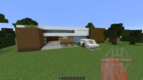 Minimalistic House para Minecraft
