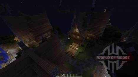 MedievalCubeCity para Minecraft