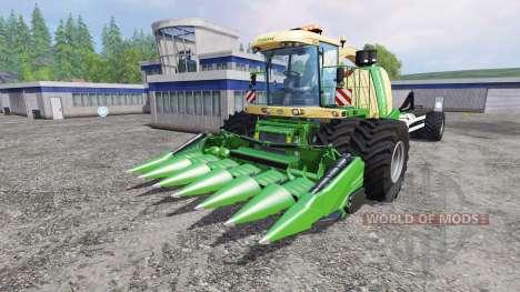 Krone Big X 1100 Hkl para Farming Simulator 2015