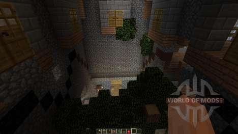 Dianites Fortress Overgrown para Minecraft