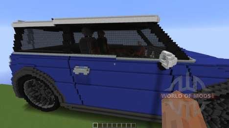 Mini Cooper para Minecraft