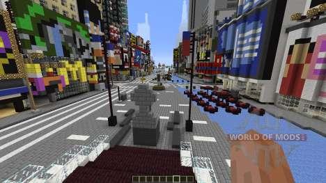 Times Square Manhattan Replica para Minecraft