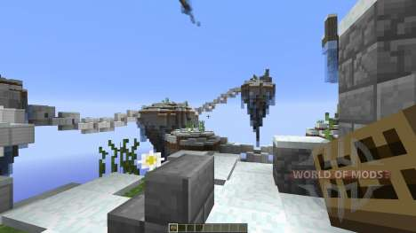 Icelands of Paradise para Minecraft