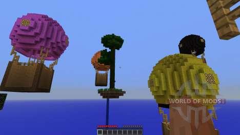 Hot Air Balloon Survival Survival Map para Minecraft