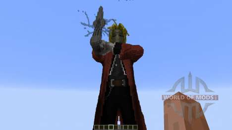 Edward Elric Fullmetal Alchemist para Minecraft