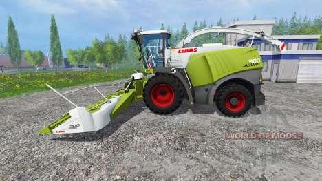 CLAAS Jaguar 980 [washable] para Farming Simulator 2015