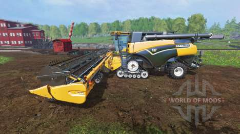Caterpillar Lexion 590R v1.41 [fix edited] para Farming Simulator 2015