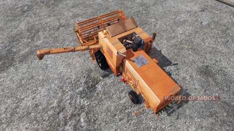 Bizon Z056 [orange] para Farming Simulator 2015