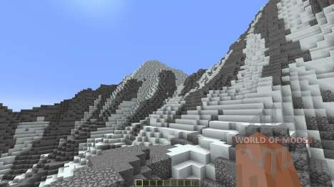 Super realistic mountain para Minecraft