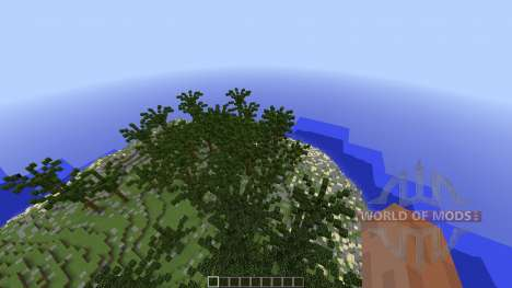 Custom Terrain Volcanic Island para Minecraft