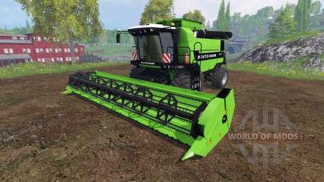 Deutz-Fahr 7545 RTS v1.2.4 para Farming Simulator 2015