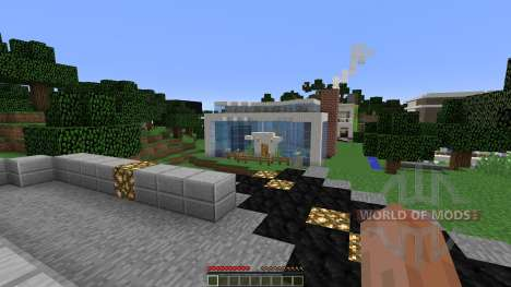 Modern pick City para Minecraft