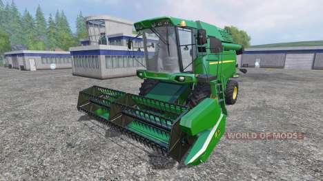 John Deere W330 para Farming Simulator 2015