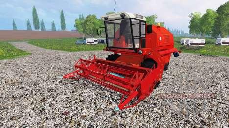 Bizon Z058 v1.5 para Farming Simulator 2015