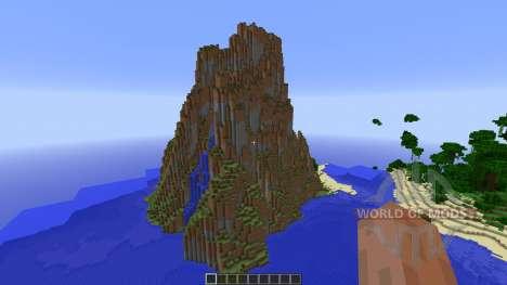 Aero Island Custom Island Landscape para Minecraft