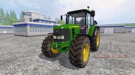 John Deere 6430 comfort para Farming Simulator 2015