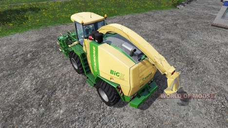 Krone Big X 1100 [rent] para Farming Simulator 2015