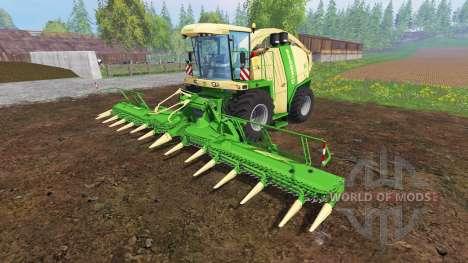 Krone Big X 1100 [mouse controlled] v2.0 para Farming Simulator 2015