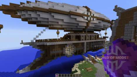 Steampunk Airship Of Thernop para Minecraft