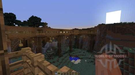 Dam Bridge Tunnel Experiments para Minecraft