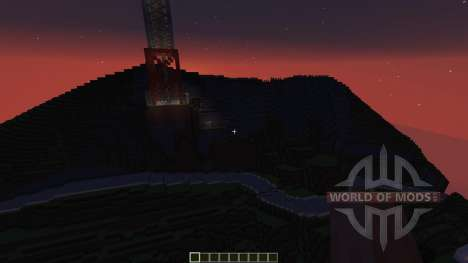 Hollywood California para Minecraft