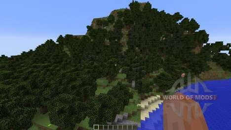 The Mollusc Custom Terrain para Minecraft
