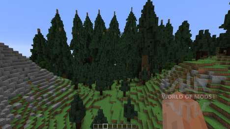 Mountain Island Map para Minecraft