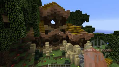 Rustic Asian House para Minecraft