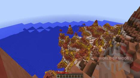 Costa Estralita para Minecraft