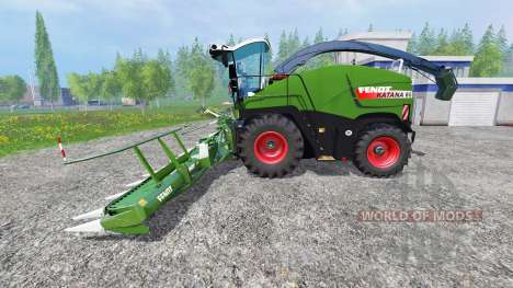 Fendt Katana 65 [pack] para Farming Simulator 2015
