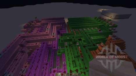 12 hour digital clock para Minecraft