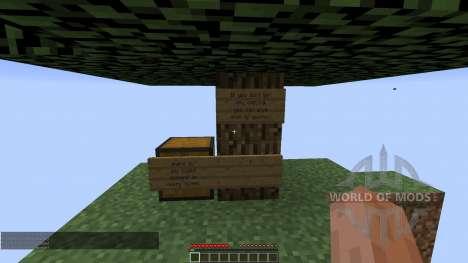 Sky islands survial para Minecraft