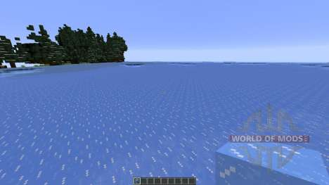 Island of Gelous Winter Map para Minecraft