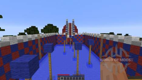 WIPEOUT para Minecraft